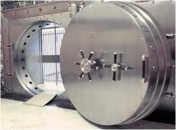 2ª puerta de acero de 14 toneladas