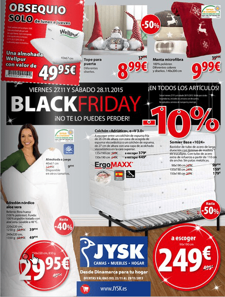 Black friday rubendariux for Conforama black friday